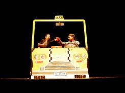 Ratitos de viaje en taxi- Los Dalton